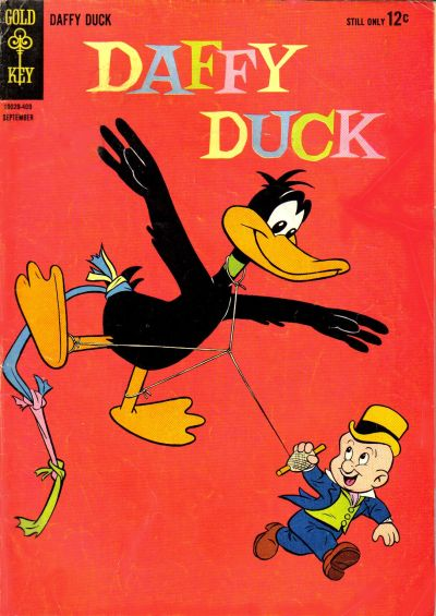 Cover for Daffy Duck (Western, 1962 series) #38