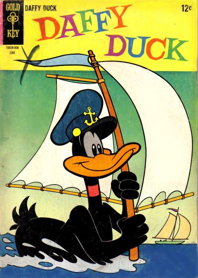 Cover for Daffy Duck (Western, 1962 series) #41