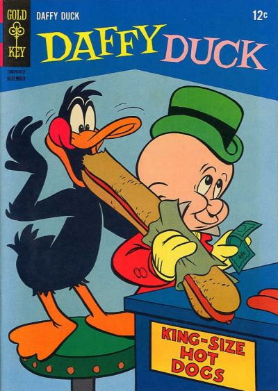 Cover for Daffy Duck (Western, 1962 series) #47