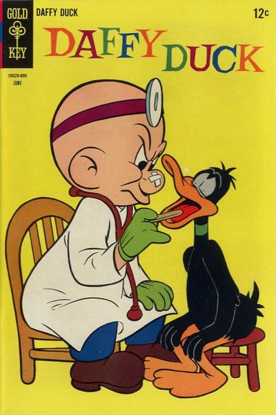 Cover for Daffy Duck (Western, 1962 series) #53