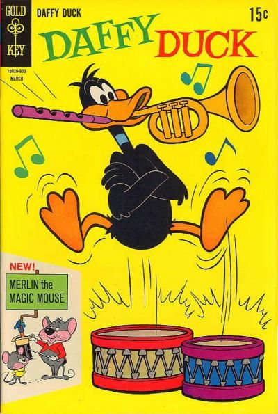 Cover for Daffy Duck (Western, 1962 series) #56