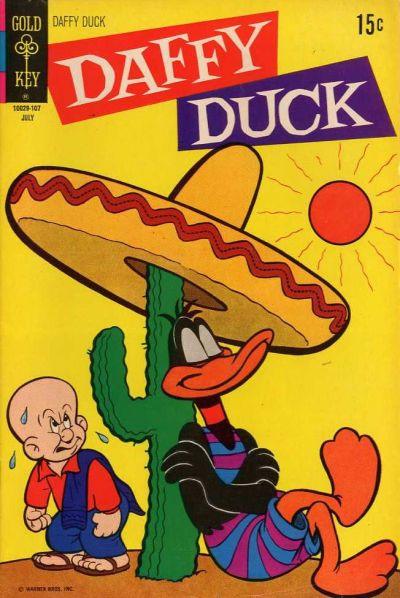 Cover for Daffy Duck (Western, 1962 series) #70
