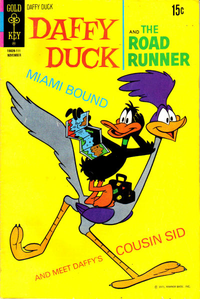 Cover for Daffy Duck (Western, 1962 series) #72 [Gold Key]