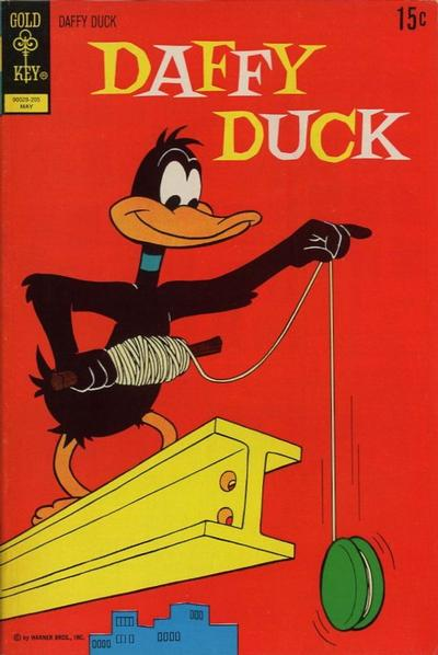 Cover for Daffy Duck (Western, 1962 series) #75 [Gold Key]