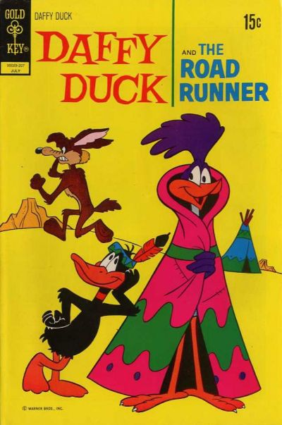 Cover for Daffy Duck (Western, 1962 series) #76 [Gold Key Variant]