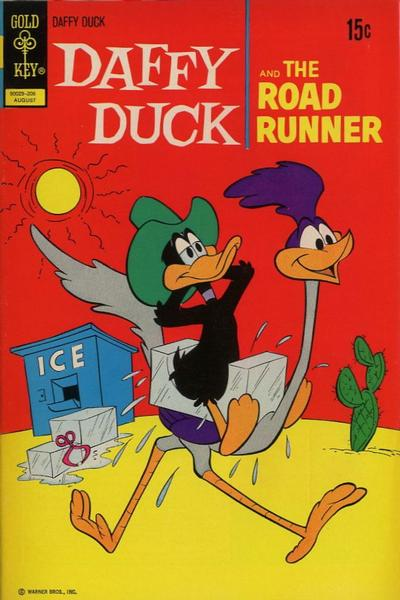 Cover for Daffy Duck (Western, 1962 series) #77 [Gold Key]