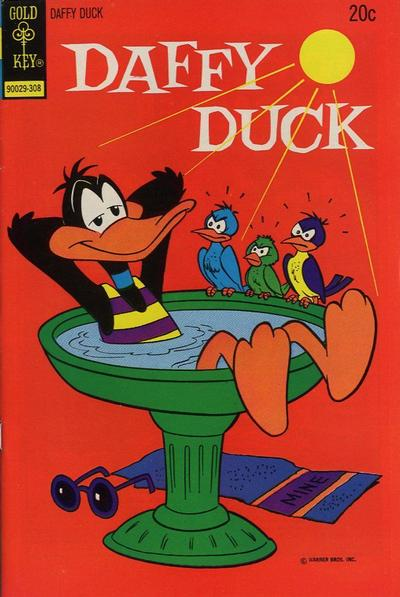 Cover for Daffy Duck (Western, 1962 series) #83 [Gold Key]