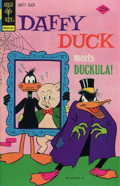 Cover for Daffy Duck (Western, 1962 series) #92