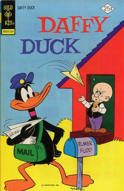Cover for Daffy Duck (Western, 1962 series) #93