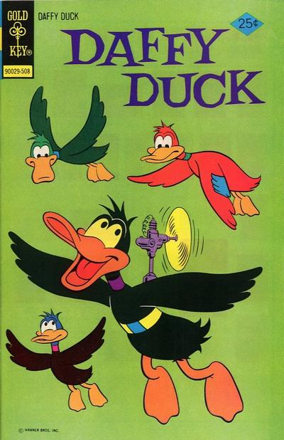 Cover for Daffy Duck (Western, 1962 series) #95 [Gold Key]