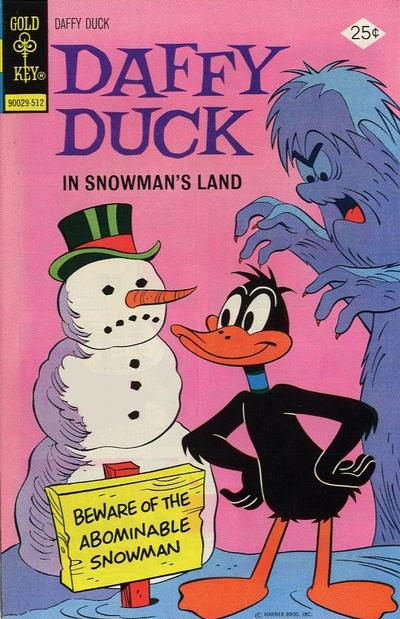 Cover for Daffy Duck (Western, 1962 series) #98 [Gold Key Variant]