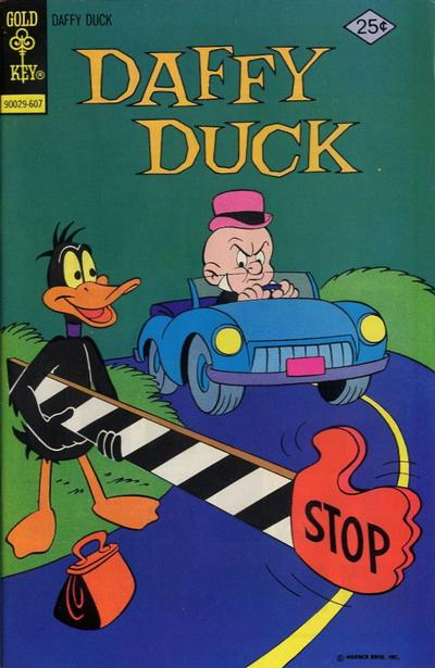 Cover for Daffy Duck (Western, 1962 series) #102 [Gold Key]