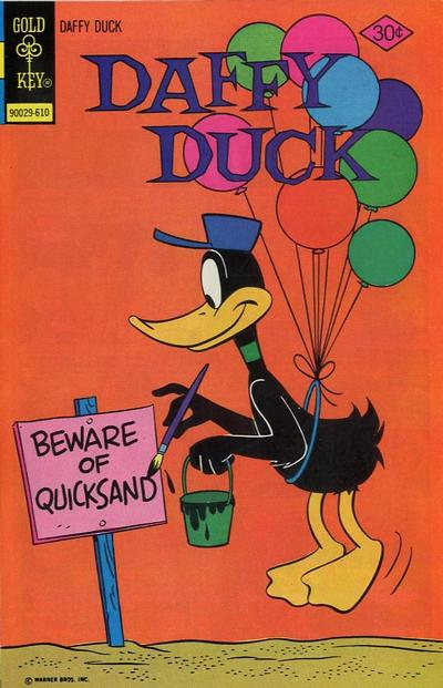 Cover for Daffy Duck (Western, 1962 series) #104 [Gold Key]