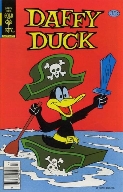 Cover for Daffy Duck (Western, 1962 series) #116 [Gold Key]