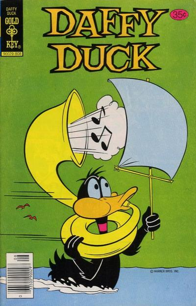 Cover for Daffy Duck (Western, 1962 series) #117 [Gold Key]