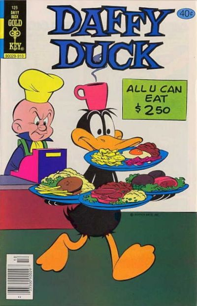 Cover for Daffy Duck (Western, 1962 series) #125