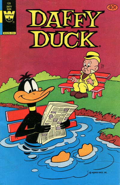 Cover for Daffy Duck (Western, 1962 series) #128