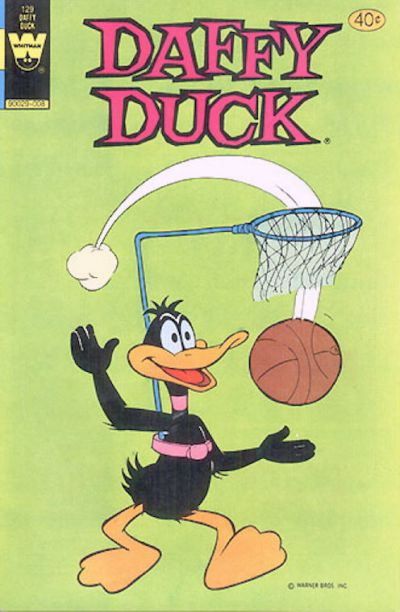 Cover for Daffy Duck (Western, 1962 series) #129