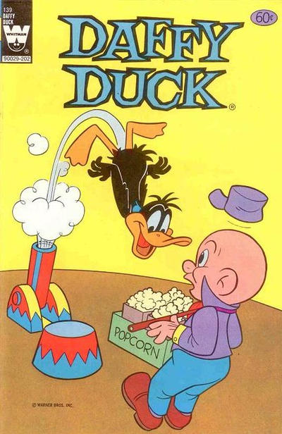 Cover for Daffy Duck (Western, 1962 series) #139