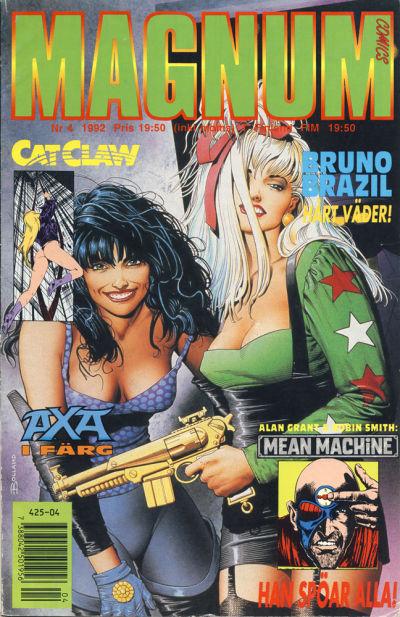 Cover for Magnum Comics (Atlantic Förlags AB, 1990 series) #4/1992
