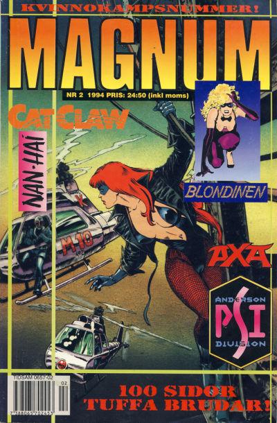 Cover for Magnum Comics (Atlantic Förlags AB, 1990 series) #2/1994