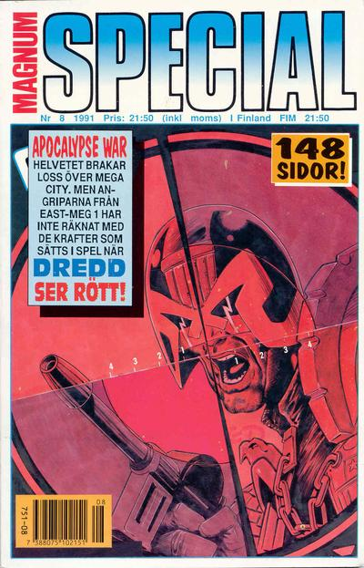 Cover for Magnum Special (Atlantic Förlags AB, 1989 series) #8/1991