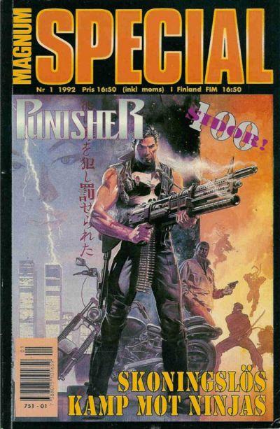 Cover for Magnum Special (Atlantic Förlags AB, 1989 series) #1/1992