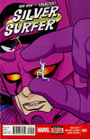 Cover for Silver Surfer (Marvel, 2014 series) #9