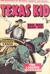 Cover for Texas Kid (Horwitz, 1950 ? series) #23