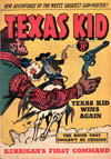 Cover for Texas Kid (Horwitz, 1950 ? series) #22
