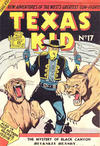 Cover for Texas Kid (Horwitz, 1950 ? series) #17