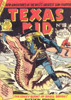 Cover for Texas Kid (Horwitz, 1950 ? series) #18