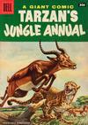 Cover Thumbnail for Edgar Rice Burroughs' Tarzan's Jungle Annual (1952 series) #5 [30¢ edition]