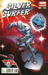 Cover for Silver Surfer (Marvel, 2014 series) #1 [Third Eye Comics Exclusive Variant by Jim Starlin]