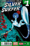 Cover for Silver Surfer (Marvel, 2014 series) #1 [3rd Printing]