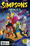 Cover for Simpsons Comics (Bongo, 1993 series) #218