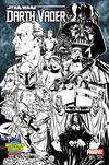 Cover Thumbnail for Darth Vader (2015 series) #1 [Mark Brooks Midtown Comics Exclusive Black and White Connecting Cover Variant]
