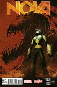 Cover for Nova (Marvel, 2013 series) #27