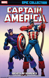 Cover Thumbnail for Captain America Epic Collection (Marvel, 2014 series) #12 - Society of Serpents