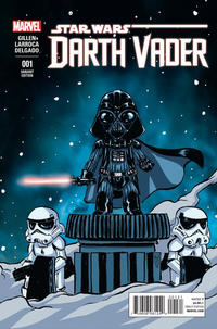 Cover Thumbnail for Darth Vader (Marvel, 2015 series) #1 [Skottie Young Babies Variant]