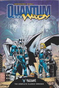 Cover Thumbnail for Quantum and Woody: The Complete Classic Omnibus (Valiant Entertainment, 2014 series)