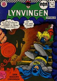 Cover Thumbnail for Lynvingen (Serieforlaget / Se-Bladene / Stabenfeldt, 1966 series) #10/1968