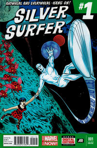 Cover Thumbnail for Silver Surfer (Marvel, 2014 series) #1 [3rd Printing]