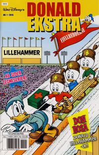 Cover Thumbnail for Donald ekstra (Hjemmet / Egmont, 2011 series) #1/2015