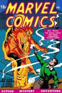 Cover Thumbnail for Golden Age Marvel Comics Omnibus (Marvel, 2009 series) #1