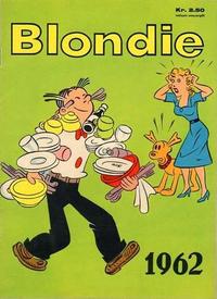 Cover Thumbnail for Blondie (Hjemmet / Egmont, 1941 series) #1962