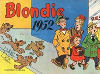 Cover Thumbnail for Blondie (Hjemmet / Egmont, 1941 series) #1952