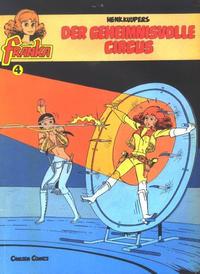 Cover Thumbnail for Franka (Carlsen Comics [DE], 1985 series) #4 - Der geheimnisvolle Circus