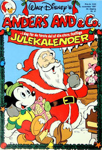Cover Thumbnail for Anders And & Co. (Egmont, 1949 series) #47/1987