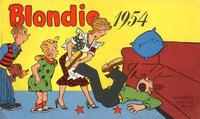 Cover Thumbnail for Blondie (Hjemmet / Egmont, 1941 series) #1954